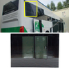 high quality windshield sliding window for bus