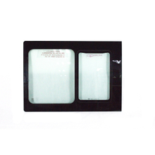 Hot sale aluminum bus side window glass